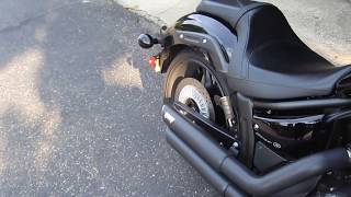 10. Yamaha Stryker Vance & Hines Twin Staggered Exhaust