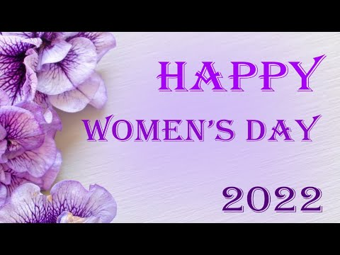 Happy Womens Day...