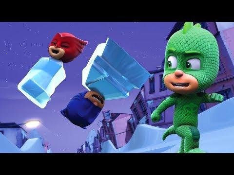 Герои в масках - Ледяной план Гекко - Сборник -  мультики для детей - DomaVideo.Ru