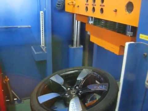 Проверка прочности диска WSP Italy W568 Vittoria на удар обода (Audi)