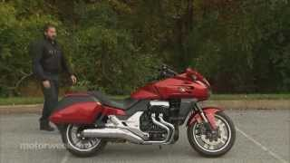 9. MotorWeek | Two Wheelin': 2014 Honda CTX 1300