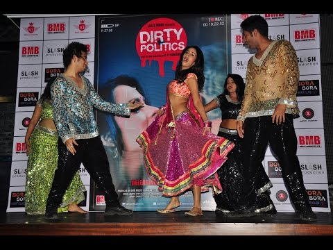 Song Launch Ghagra With Mallika Sherawat For Her Upcoming Film Dirty Politics