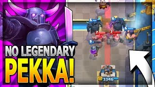 No Legendary Pekka Deck for Legendary Arena 11, Hog Mountain Arena 10 and Jungle Arena 9. No Legendary Cards Needed! ~~~Free Gems: http://mistplay.co/shane ~...
