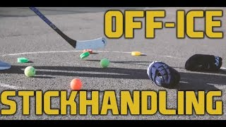 Top 5 Off-Ice Stickhandling Drills To Help You Become A Better Hockey Player