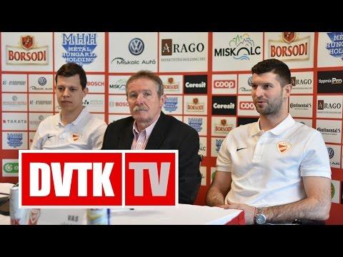 Vas János a DVTK Jegesmedvék játékosa | 2017. április 19. | DVTK TV