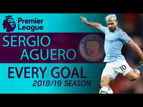 All goals Manchester City's Sergio Aguero scored during 2018-2019 Premier League season | NBC Sports