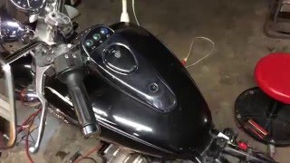 5. How to remove gas tank 05 Kawasaki Eliminator 125