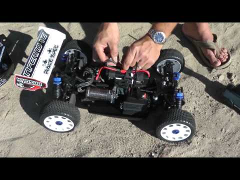 Kyosho - The Kyosho Inferno VE Race Spec is the latest version of the popular and powerful Inferno VE. It's an incredibly powerful machine that rivals the performance...