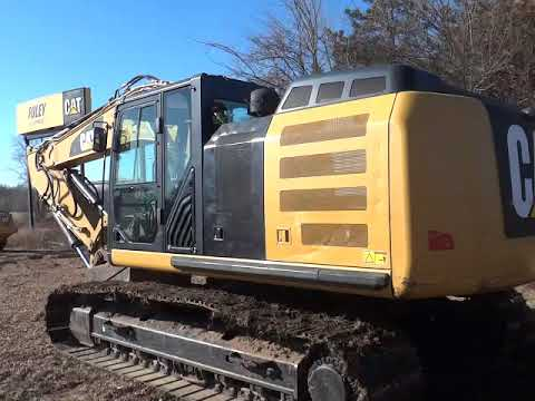 CATERPILLAR ГУСЕНИЧНЫЙ ЭКСКАВАТОР 324EL9 equipment video Mq7IAhrsO3w