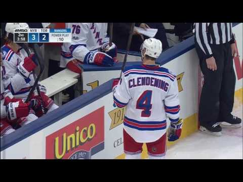 Video: Hyman picks Clendening's pocket to score short-handed on Lundqvist