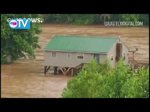 Cerca de una treintena de muertos en las inundaciones de Virginia Occidental