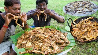 Video KING of CRAB Gravy Prepared By Grandpa   NANDU KULAMBU   Crab Village food recipe   Village Cooking MP3, 3GP, MP4, WEBM, AVI, FLV Januari 2019