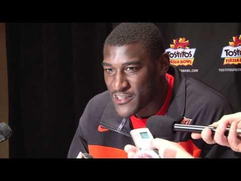Justin Blackmon Interview 12/29/2011 video.