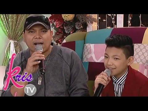At - Daddy Lindon at Darren, nag-sample sa Kris TV.
