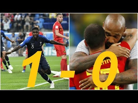 France vs Belgium 1-0 - All Goals & Extended Highlights - World Cup 10/07/2018 HD