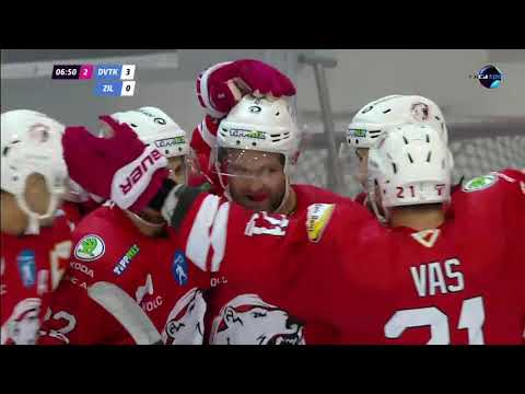 2. forduló DVTK Jegesmedvék - MsHK Žilina 6-2