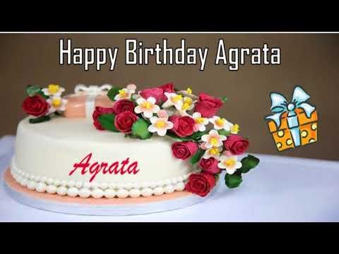 Happy birthday quotes - Happy Birthday Agrata Image Wishes