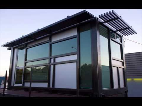 Prefab shipping container home – one cool habitat .com