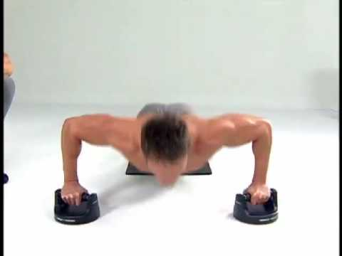 Shoulder Exercise - Perfect Pushup Shoulder Workout.