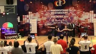 Lea Sophie Friede & Konstantin Sell - Norddeutsche Meisterschaft 2014