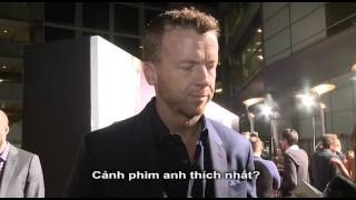 '3 DAYS TO KILL PREMIERE' interview at Red Carpet Premiere with McG, Kevin Costner