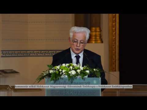 Holokauszt Magyarországi Áldozatainak Emléknapja a Holokauszt Emlékközpontban