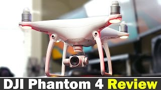 Here is our full in depth review for the DJI Phantom 4 drone. More info on Phantom 4: http://bit.ly/1SyrB7O http://amzn.to/1SbomBg DJI Phantom 4 vs DJI Phant...