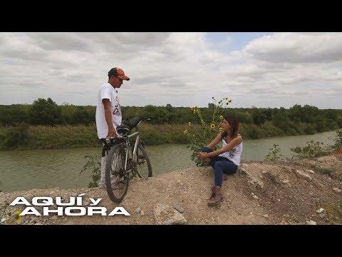 Migrante hondureño recorrió en bicicleta 3.000 km hasta la frontera entre México y EEUU