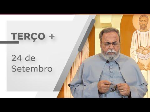 Terço de Aparecida com Pe. Antonio Maria – 24 de Setembro de 2020