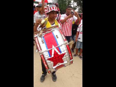 Junior te llevamos en el ♡ - La Tradicional Del 98' - Frente Rojiblanco Sur - Junior de Barranquilla