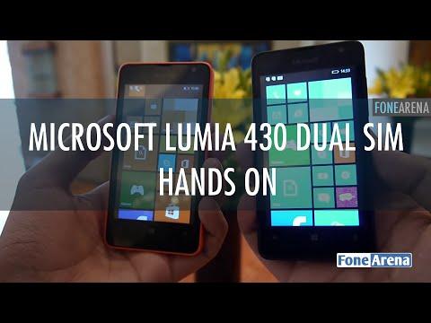 Microsoft Lumia 430 Dual SIM Hands on