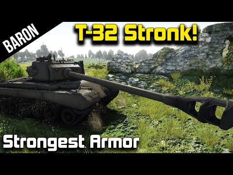 War Thunder – T-32, Strongest Tank in the Game?  War Thunder American Tanks 1.45 Gameplay