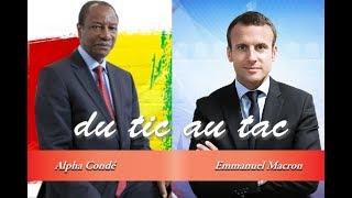 Emmanuel Macron et Alpha Condé : du tic au tac