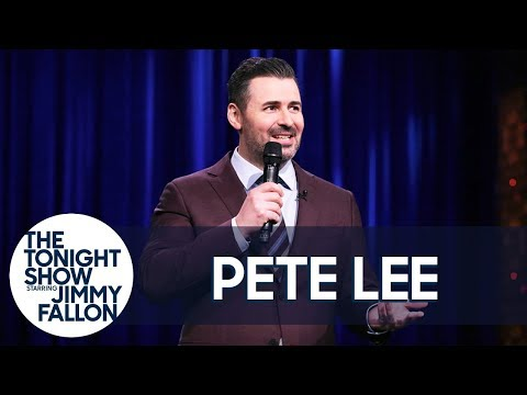Pete Lee StandUp on The Tonight Show