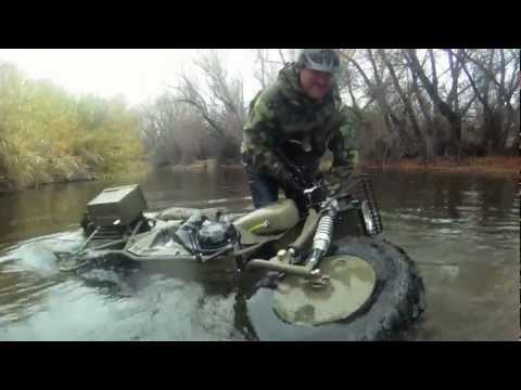 Tim Ralston of National Geographic 's Doomsday Preppers Field Tests the ROKON Motorcycle