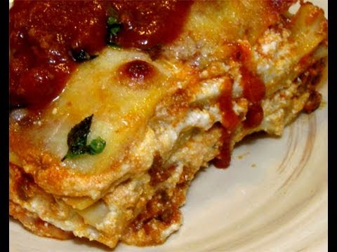 Great Classic Homemade Italian Lasagna Recipe Video