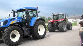 New Holland vs Massey Ferguson www.agrarservice-hubmann.at