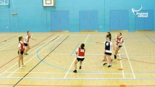 Teaching KS3 Netball - 10. Attacking Centre Pass