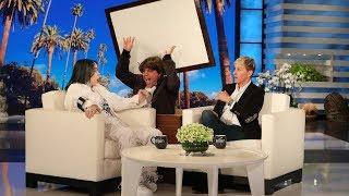Billie Eilish Gets a Scare from 'Justin Bieber'