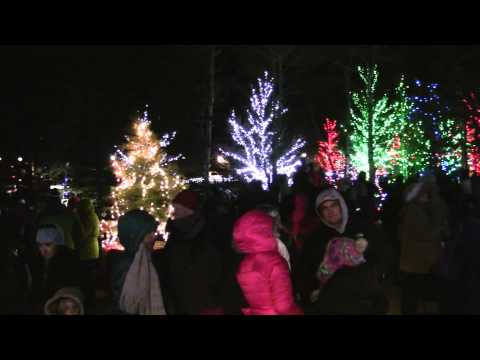 Estes Park Christmas Tree Lighting 2014