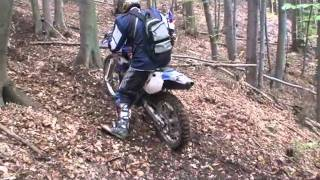3. Husky TE510 fun in the forest