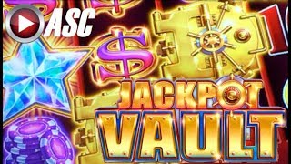 Back to back bonus! BIG WIN on the JACKPOT VAULT  STRIKING STARS slot machine by Scientific Games. This is a 243 any...