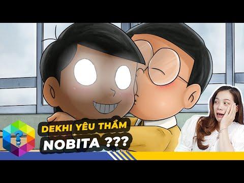 Thuyết Âm Mưu: Dekhi Yêu Thầm Nobita Và Nobita Tán Đổ Xuka Theo Kế Hoạch Trong Doraemon