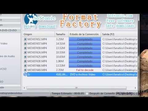 Como Convertir o Copiar DVD a Cualquier Formato /...Avi, MP4, Rmvb  H.264(Full HD)