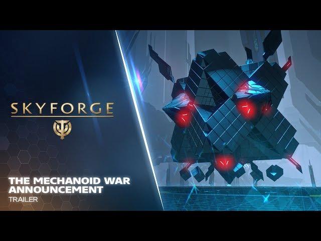 Skyforge PS4 - The Mechanoid War Announcement Trailer