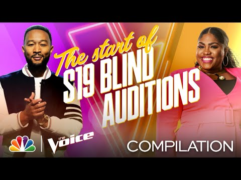 The Best Performances from the First Week of the Blind Auditions - The Voice 2020