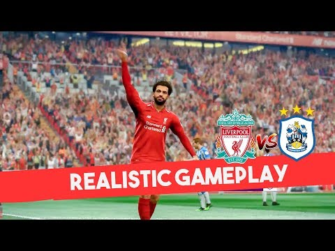 PES 2019 Realistic Highlight: Liverpool Vs Huddersfield | Premier League