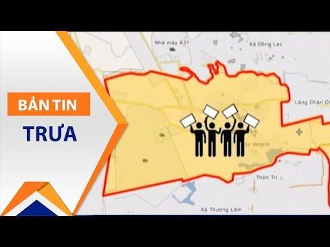 Thanh tra đất đai Đồng Tâm thay phó trưởng đoàn   VTC1 - Thời lượng: 45 giây.