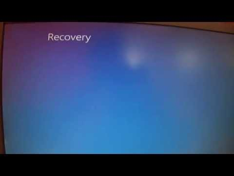 After Cloning my PC with Paragon Backup & Recovery Free Edition, I get this Recovery Screen.