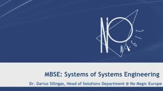 Systems of Systems Engineering Webinar